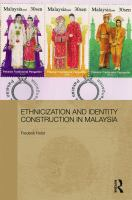 Cover image for Ethnicization and identity construction in Malaysia