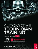 Cover image for Automotive technician training : theory