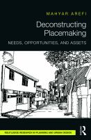 Cover image for Deconstructing placemaking : needs, opportunities, and assets