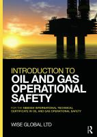 Cover image for Introduction to oil and gas operational safety : For the NEBOSH international technical certificate in oil and gas operational safety