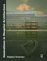 Cover image for Innovations in hospital architecture