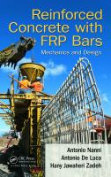 Cover image for Reinforced concrete with FRP bars : mechanics and design