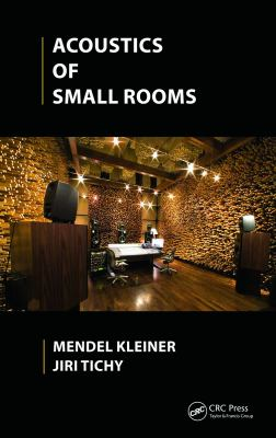 Cover image for Acoustics of small rooms