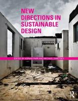 Cover image for New directions in sustainable design