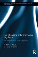 Cover image for The Lilliputians of environmental regulation : the perspective of state regulators