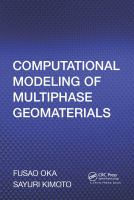 Cover image for Computational modeling of multi-phase geomaterials