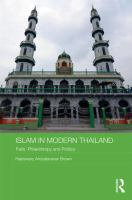 Cover image for Islam in modern Thailand : faith, philanthropy and politics