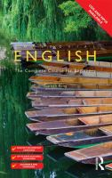 Cover image for Colloquial English : the complete course for beginners