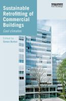 Cover image for Sustainable retrofitting of commercial buildings : cool climates