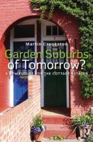 Cover image for Garden suburbs of tomorrow? : a new future for the cottage estates