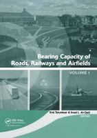 Cover image for Bearing capacity of roads, railways and airfields proceedings of the 8th International Conference on the Bearing Capacity of Roads and Airfields, Champaign, Illinois, USA, June 29-July 2, 2009