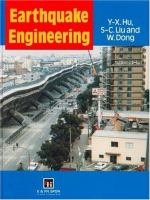 Cover image for Earthquake engineering