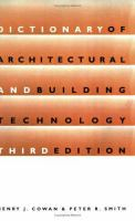 Cover image for Dictionary of architectural and building technology