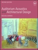 Cover image for Auditorium acoustics and architectural design