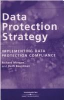 Cover image for Data protection strategy : implementing data protection compliance