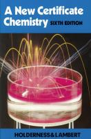 Cover image for A new certificate chemistry