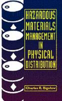 Cover image for Hazardous materials management in physical distribution