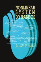 Cover image for Nonlinear system dynamics