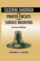 Cover image for Soldering handbook for printed circuits and surface mounting