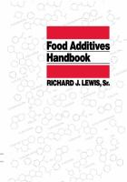 Cover image for Food additives handbook