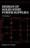 Cover image for Design of solid state power supplies
