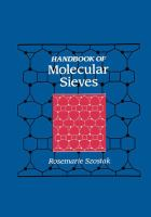 Cover image for Handbook of molecular sieves
