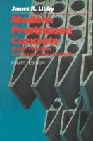 Cover image for Modern prestressed concrete : design principles and construction methods