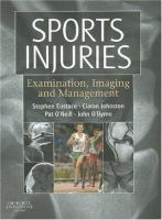 Cover image for Sports injuries : examination, imaging and management