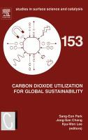 Cover image for Carbon dioxide utilization for global sustainability : proceedings of the 7th International Conference on Carbon Dioxide Utilization, Seoul, Korea, 12-16 October 2003