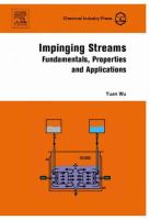Cover image for Impinging streams : fundamentals, properties, applications