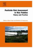 Cover image for Pesticide risk assessment in rice paddies : theory and practice