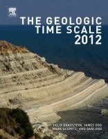 Cover image for The Geologic Time Scale 2012