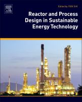 Cover image for Reactor and process design in sustainable energy technology