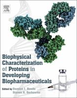 Cover image for Biophysical characterization of proteins in developing biopharmaceuticals