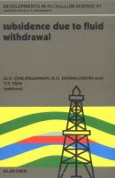 Cover image for Subsidence due to fluid withdrawal