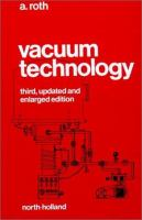 Cover image for Vacuum technology