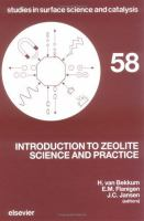Cover image for Introduction to zeolite science and practice