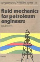 Cover image for Fluid mechanics for petroleum engineers