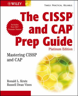 Cover image for The CISSP prep guide : mastering CISSP and CAP
