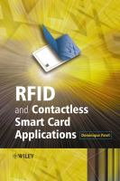 Cover image for RFID and contactless smart card applications