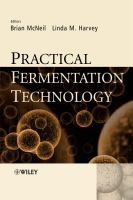 Cover image for Practical fermentation technology