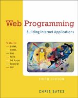 Cover image for Web programming : building Internet applications
