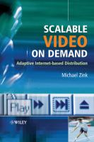 Cover image for Scalable video on demand : adaptive Internet-based distribution