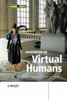 Cover image for Handbook of virtual humans