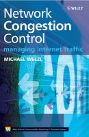 Cover image for Network congestion control : managing internet traffic