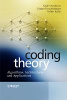 Cover image for Coding theory : algorithms, architectures and applications