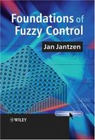 Cover image for Foundations of fuzzy control