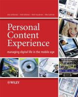 Cover image for Personal content experience : managing digital life in the mobile age