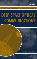 Cover image for Deep space optical communications