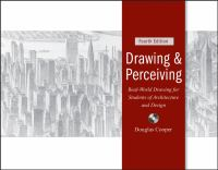 Cover image for Drawing and perceiving real-world drawing for students of architecture and design